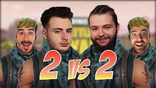 2 vs 2  Fortnite  #YannouChallenge (ft Nokss, Robi et Greg)