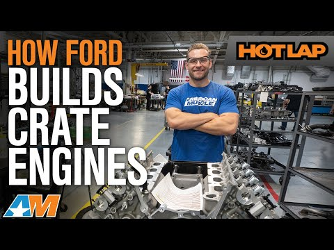 How Ford Performance Hand Builds 5.0 Coyote V8s & Ford GT V6 Engines - Hot Lap