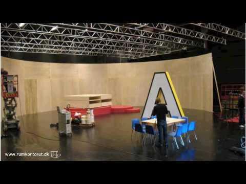 rumkontoret building a tv studio youtube. Black Bedroom Furniture Sets. Home Design Ideas