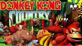 DONKEY KONG COUNTRY GAMEPLAY - THIS SH#T IS FRUSTRATING ON PC!!
