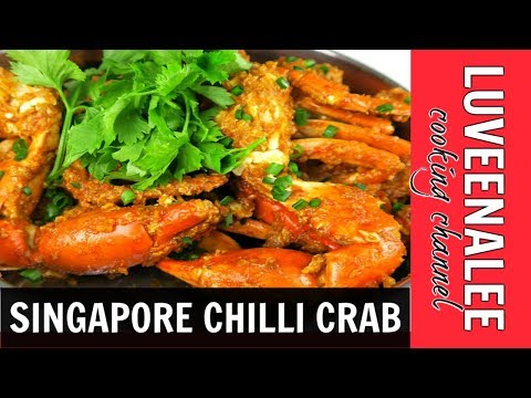 how to cook chilli crab recipe