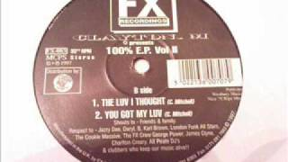 Clayton M - I Got Something Here@100% EP Vol II@Old Skool Garage