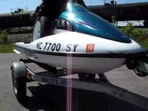 Polaris Jet Ski >> 1999 POLARIS SLH Jet Ski 95 Horsepower - YouTube