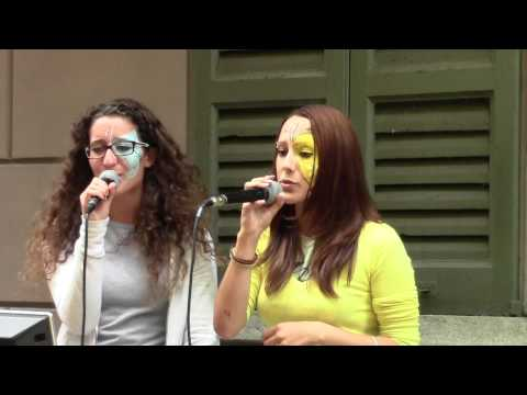 CALL ME MAYBE Karaoke Cover of Ilia & Valentina - Cannobbio 2012