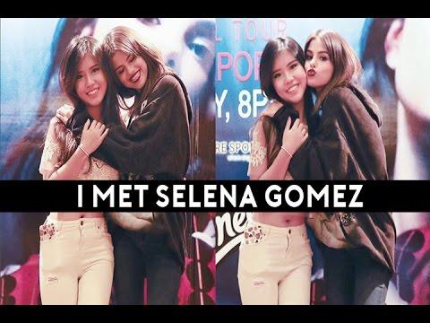 Selena Gomez said I was sweet!! + Full Concert Footage