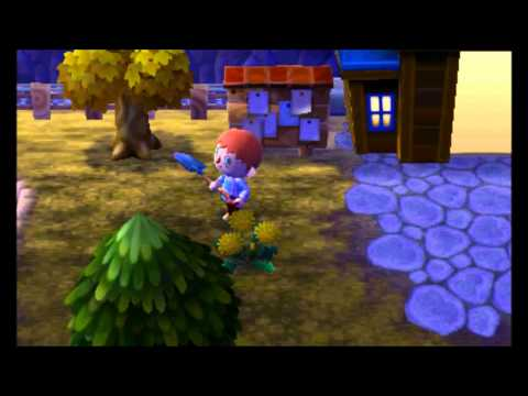 Lets Play Animal Crossing New Leaf Nintendo 3DS + 365 Days + Day 141 New Neighbour New Hairstyle!