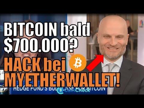 700.000 Dollar pro Bitcoin? MyEtherWallet Hack! Das ist zu beachten!