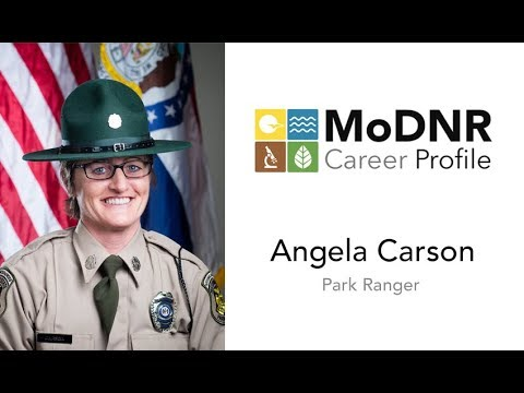 MoDNR Career Profile - Angela Carson