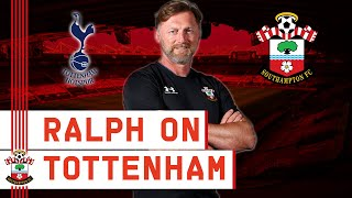 PRESS CONFERENCE: Hasenhüttl on trip to Tottenham
