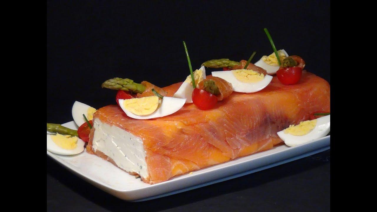 Receta Pastel de queso y salmón ahumado - Recetas de cocina, paso a paso, tutorial. Loli Domínguez