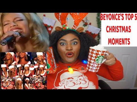 Top 5 Beyonce Christmas 🎄 Moments  Reaction  Merry Christmas