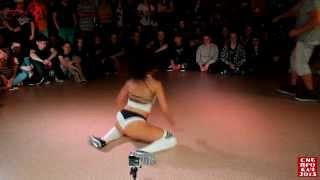 Siberian Dancehall Contest 2015 - Final - Twerk - Keat Mel vs. Mary