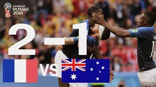 France v australia (2-1) - 2018 fifa world cup russia™ - match 5   france players ratings