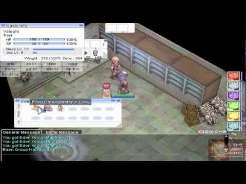 Ragnarok Online Renewal Video Guide: Eden Group Equipment I Quest Video Guide