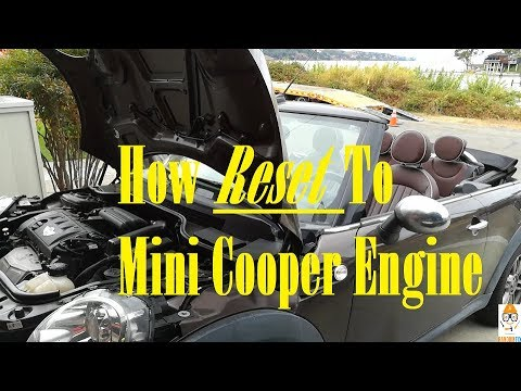 How To Clear 2010 2017 Mini Cooper Check Engine Light And Obd2 Port Location Using 20 Tool