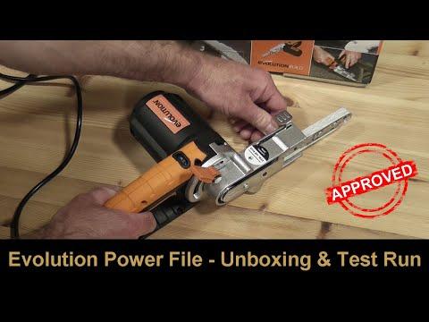 400 W 230 V Evolution Power Tools Precision fichier Sander