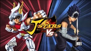 J-Stars Victory VS+ Saint Seiya vs Yu Yu Hakusho Gameplay