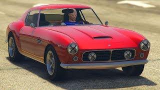 GTA 5 ONLINE NEW GROTTI GT500 DLC CAR GAMEPLAY & CUSTOMIZATION! (GTA 5 Update)