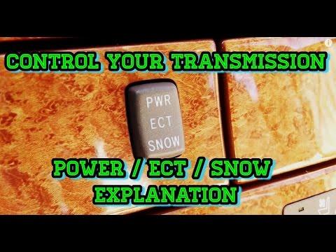 Lexus LS 430 - Power / ECT / Snow Mode Explanation