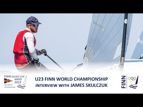 2019 Finn Silver Cup - Interview with James Skulczuk