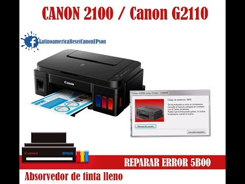 Full Download] Tutorial Reset Geral Impressoras Canon Erros