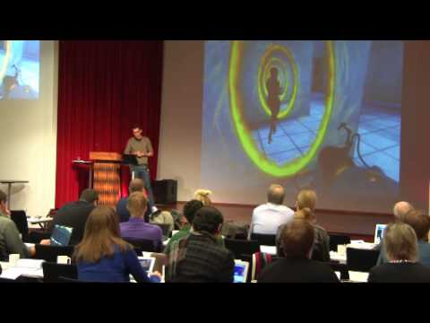 PCG2013 - Jonathan Erhardt - Reality and Structure of Virtual Space: Some Lessons from Portal