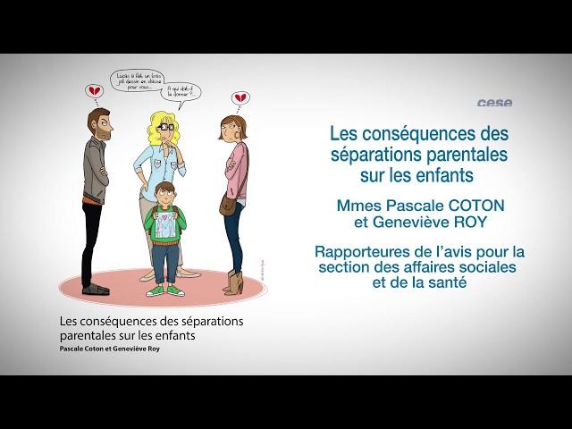 Les conséquences des séparations parentales sur les enfants - cese