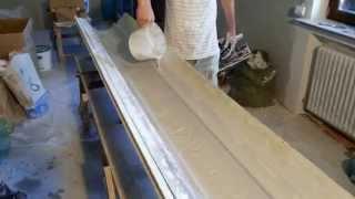 видео Карниз своими руками: процесс изготовления