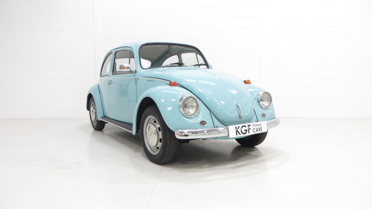 small resolution of a charming uk vw beetle 1200 with a huge history file and 61 328 miles sold