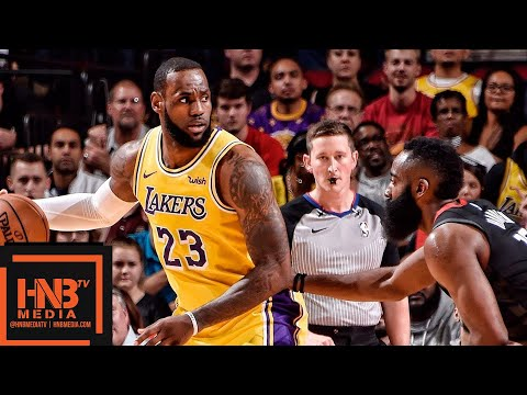 Los Angeles Lakers vs Houston Rockets Full Game Highlights | 12.13.2018, NBA Season