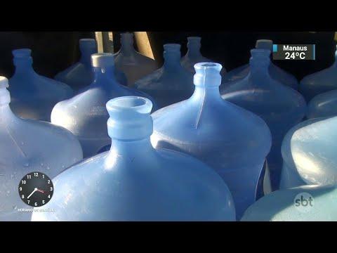 Falta de água mineral aumenta preocupação com toxoplasmose no RS | SBT Notícias (29/05/18)
