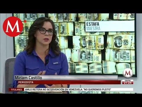 """Miriam Castillo habla de la investigación de la """"Estafa Maestra"""""""