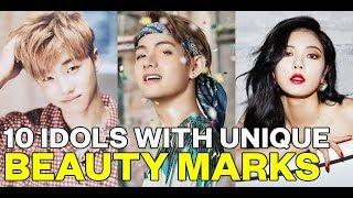 10 Idols with unique beauty marks