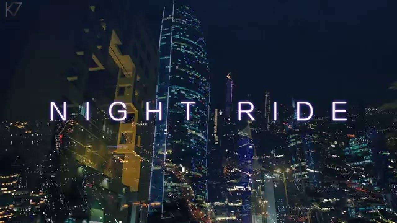 Night Ride In Kuwait City Youtube