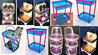 3 Rack Making Ideas From Waste Materials | DIY best out of waste