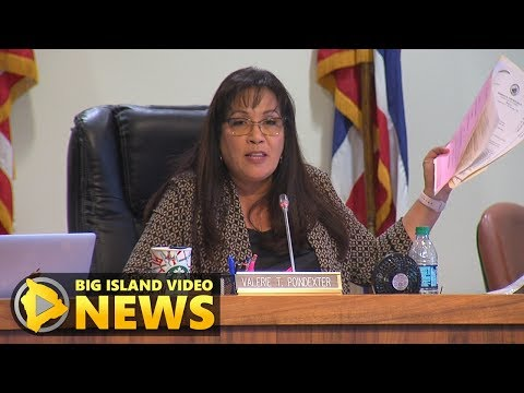 Hawaii County Council Proposes Budget Changes (Jun. 5, 2017)