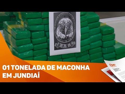 Presos com uma tonelada de maconha em Jundiaí  - TV SOROCABA/SBT