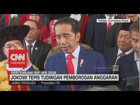 Jokowi Tepis Tudingan Pemborosan Anggaran