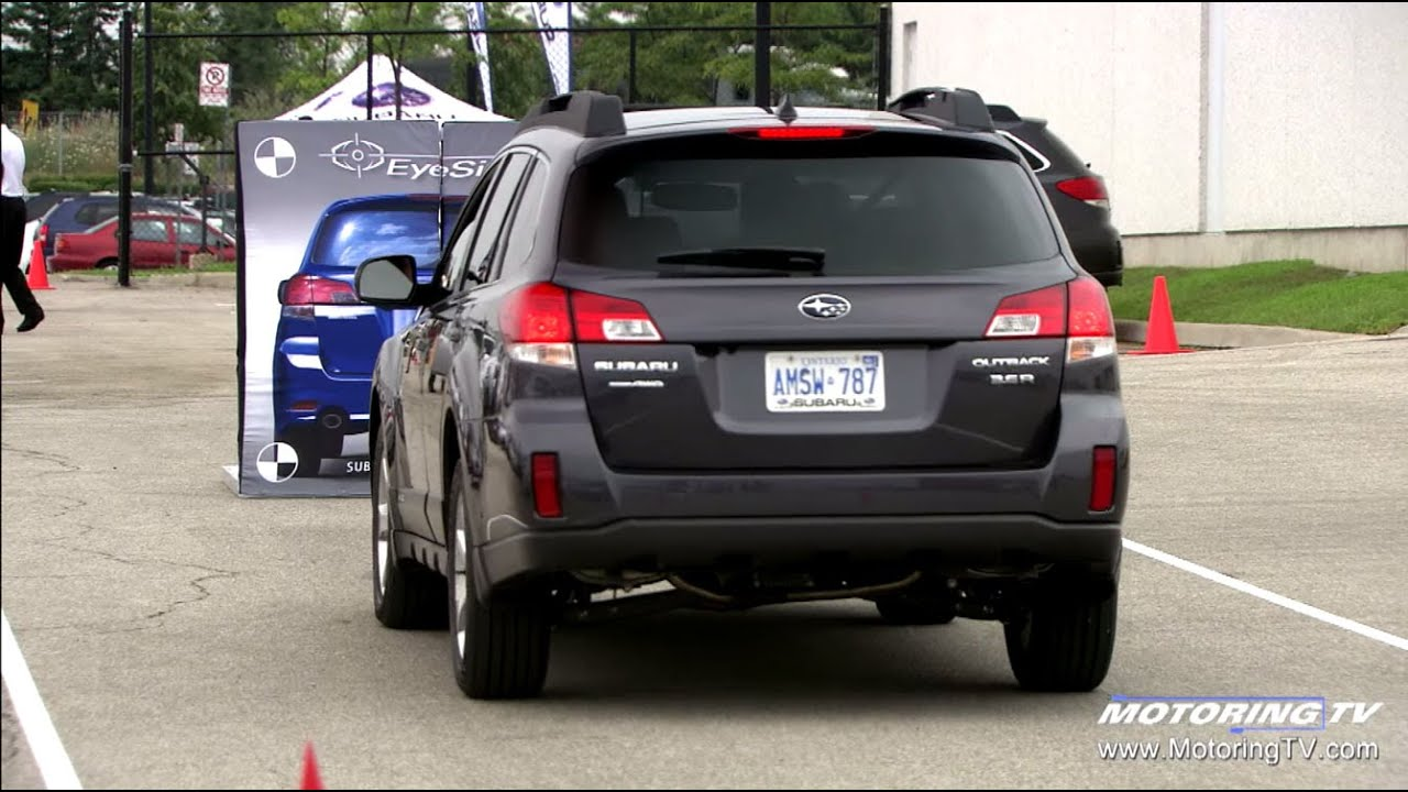 Subaru Eyesight Video >> Putting Subaru S Eyesight Technology To The Test