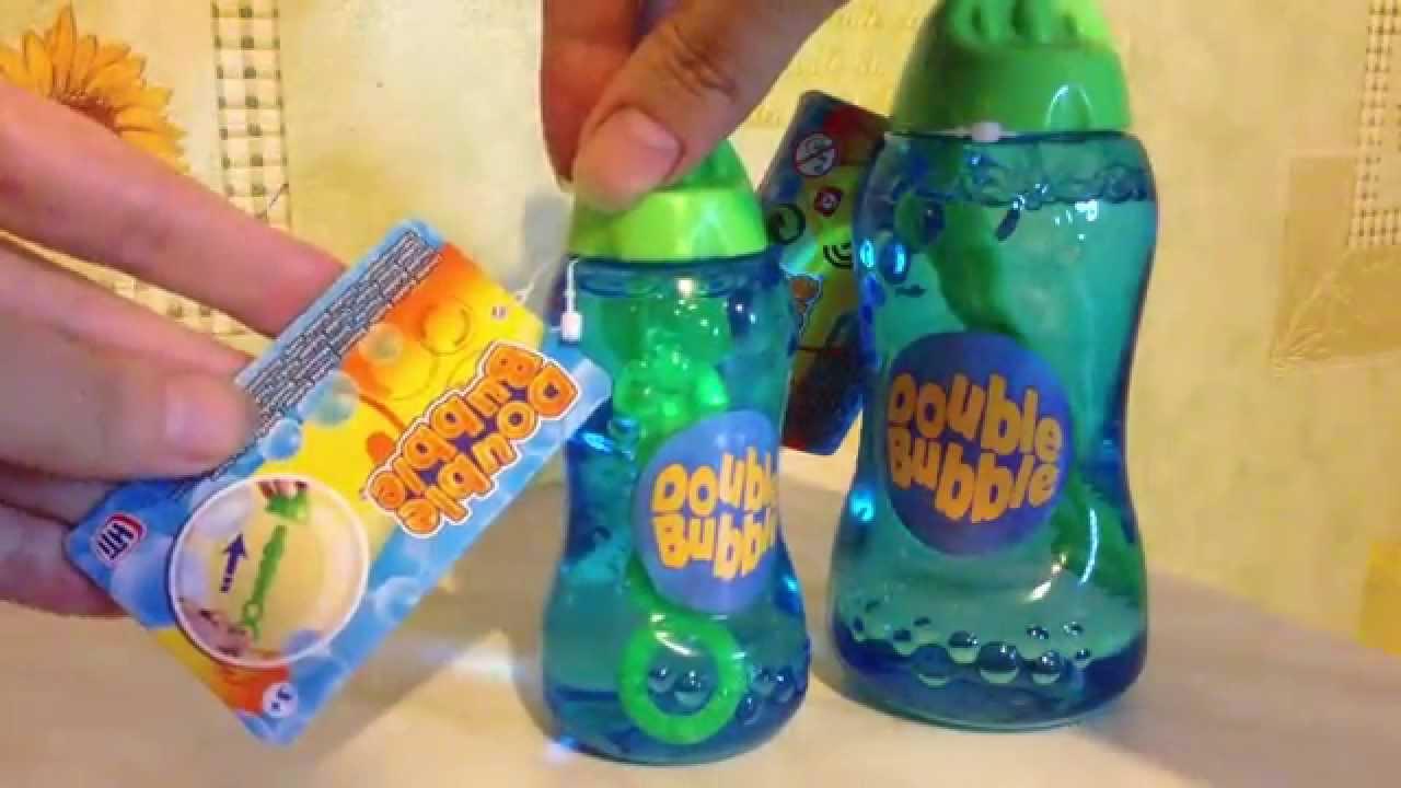 Пузыри из тюбика надуваем и играем - YouTube