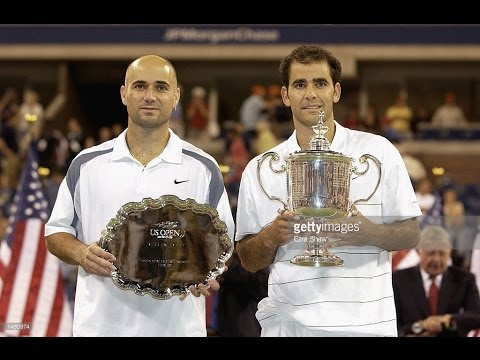 Pete Sampras VS Andre Agassi Highlight US Open 2002 Final