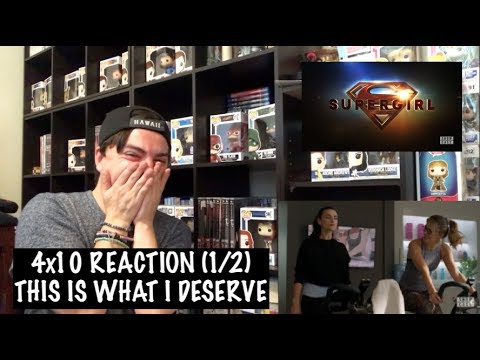 SUPERGIRL - 4x10 'SUSPICIOUS MINDS' REACTION (1/2)