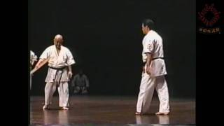 Sensei Koichi Nakasone  and sensei Yujiro Uza