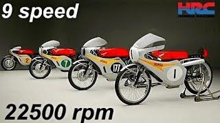 HONDA RC - Top Racing Techology