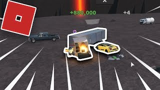 Lego Machine Breaking session (Roblox Car Crushers 2)