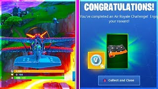How To Get AIR ROYALE Challenges and NEW WRAP WITH CHALLENGE GUIDE in Fortnite!