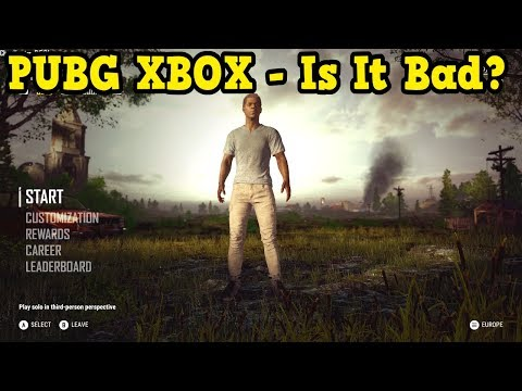 PUBG XBOX ONE X - Gameplay & Is It Better Than Fortnite?