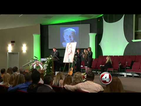 funeral held for country star mindy mccready youtube