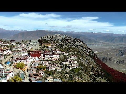 Ganden Monastery, Tibet in HD
