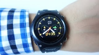 MiFRee Q8 Outdoor Fashion Sports Smartwatch Unboxing & First run (Video)